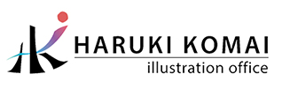 HARUKI KOMAI illustration office